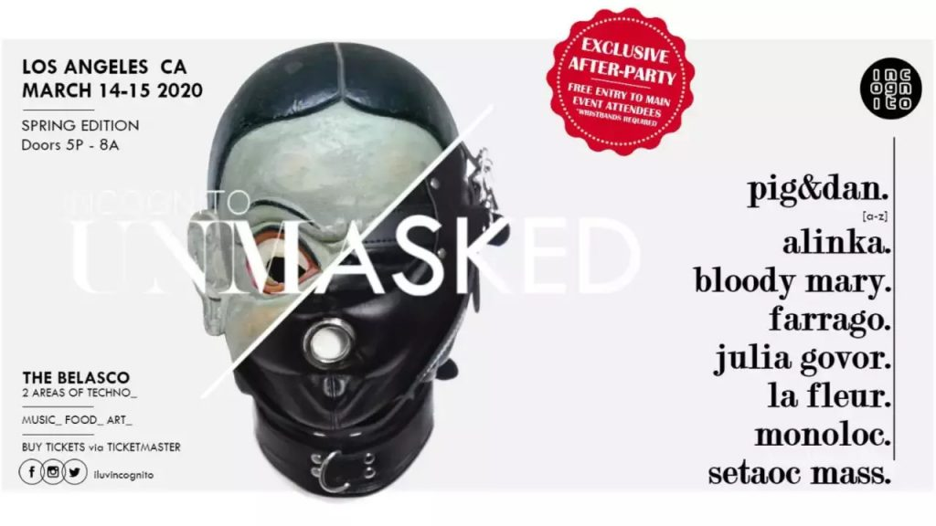 2020-03-14 UNMASKED Spring Edition